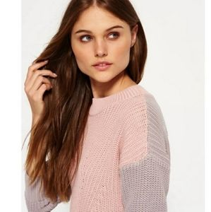 Superdry Sweaters - Superdry Nordic Knitwear Colorblock Sweater XS
